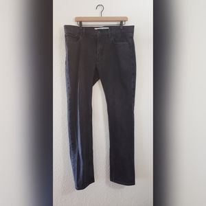 EXPRESS Rocco Slim Fit Skinny Leg Black Jeans